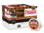 Dunkin' Donuts Chocolate Glazed Donut